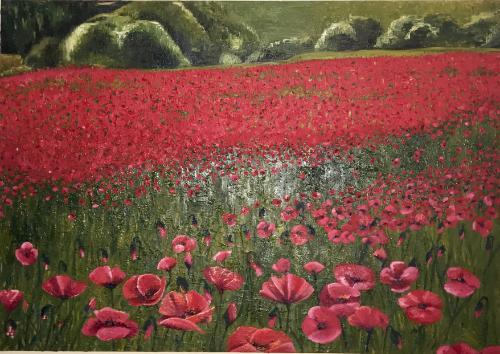 Artwork Poppy Field