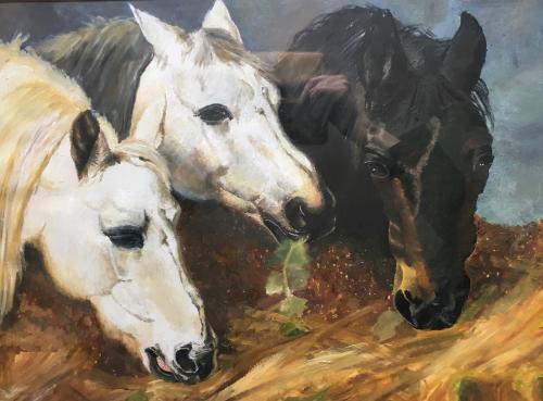 Artwork Three Horses
