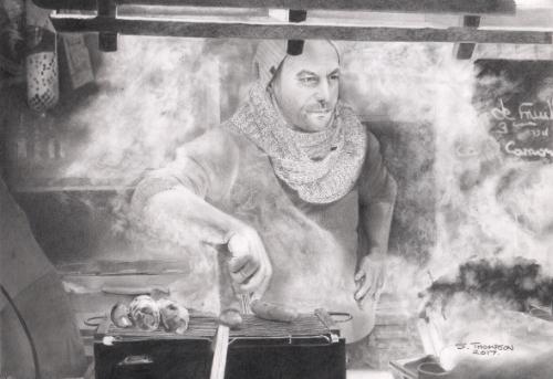 Artwork Sausage Man