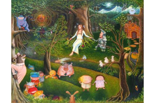 Artwork A Neverending Fairie Dreaming