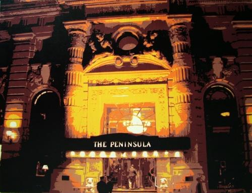 Artwork Peninsula Hotel, New York SOLD