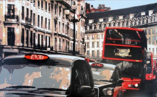 Artwork Regent Street SOLD