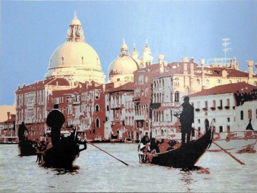 Artwork Venice Dome SOLD