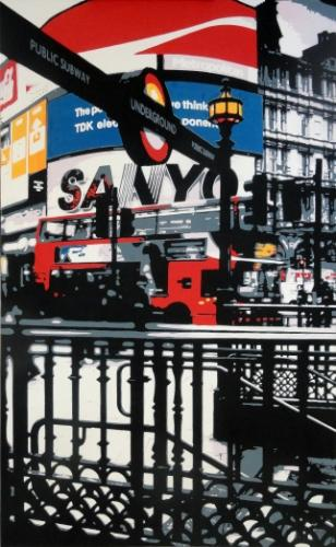 Artwork Piccadilly Circus Station