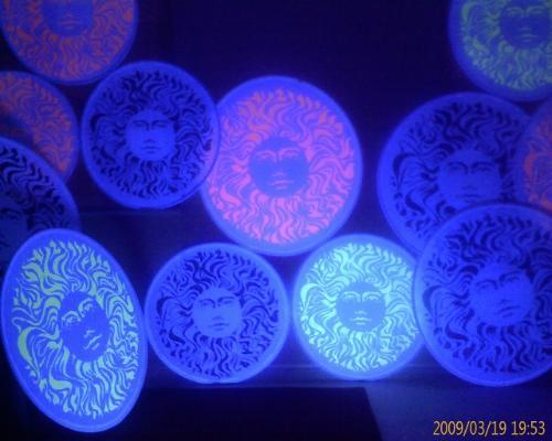 Artwork Pandemonium Decorative Hoops