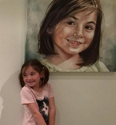 Daria by Louiseportraits - Use the 'Create Similar' button to commission an artist to create your own artwork.