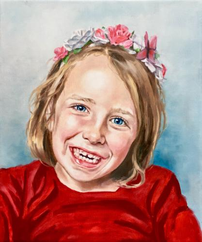 Artwork Flower girl