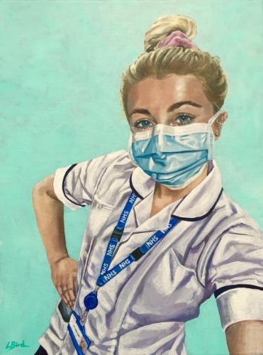 NHS hero by Louiseportraits - Use the 'Create Similar' button to commission an artist to create your own artwork.