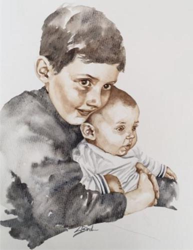 Artwork James and Viviene