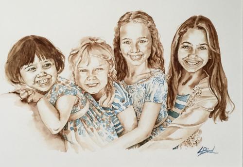 Artwork Beautiful ladies