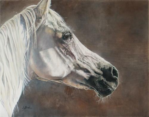 Artwork White Arab beauty