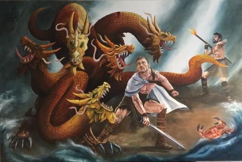Artwork Hercules & the hydra