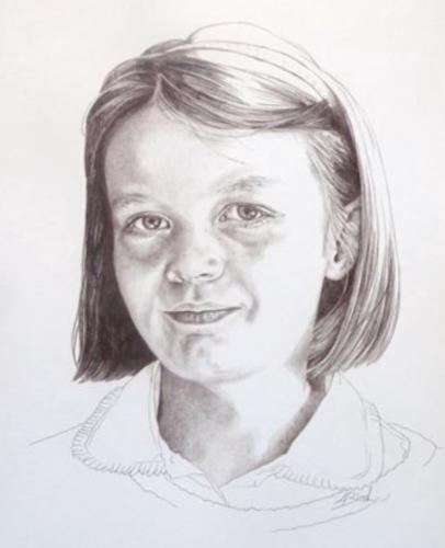 Artwork Young lady