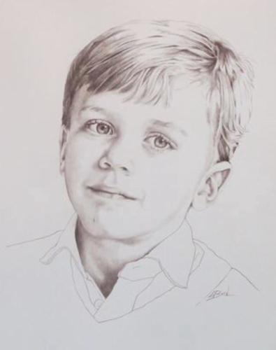 Artwork Young man