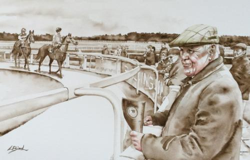 Race day by Louiseportraits - Use the 'Create Similar' button to commission an artist to create your own artwork.