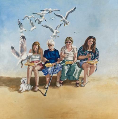 Artwork Seaside & chips