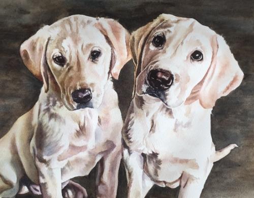 Artwork Puppies