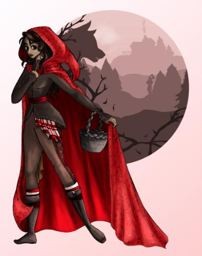 Artwork Little Red Riding Hood