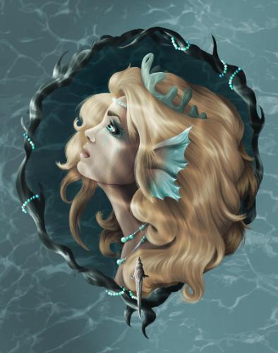 Artwork Blue As The Deep Sea