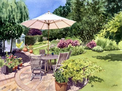 Artwork Ruby Garden