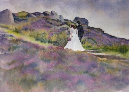 Artwork Wedding Landscape