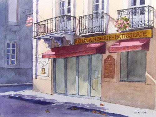 Boulangerie-Pâtisserie by Judith - Use the 'Create Similar' button to commission an artist to create your own artwork.