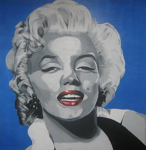 Artwork marilyn monroe