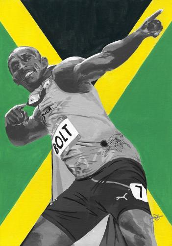 Artwork Usain Bolt