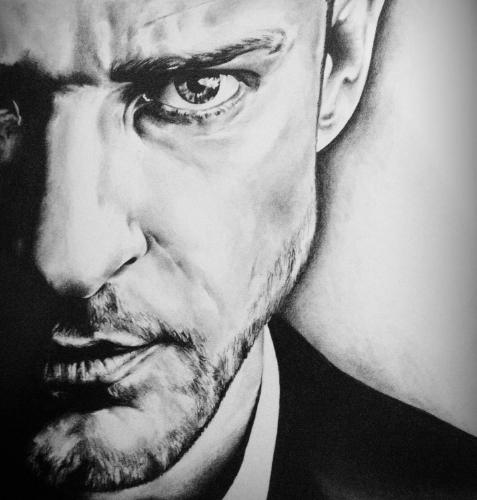 Justin timberlake by Dunc - Use the 'Create Similar' button to commission an artist to create your own artwork.