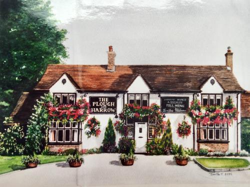 Artwork The Plough And Harrow Pub