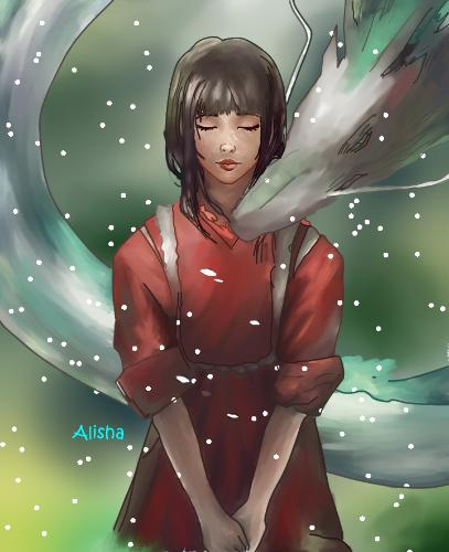 Artwork Spirited away