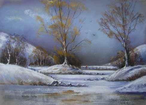 Artwork Winter lake