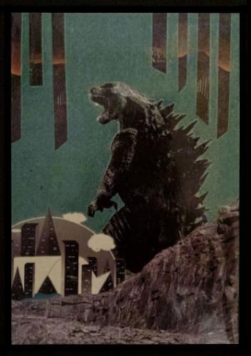 Artwork Godzilla