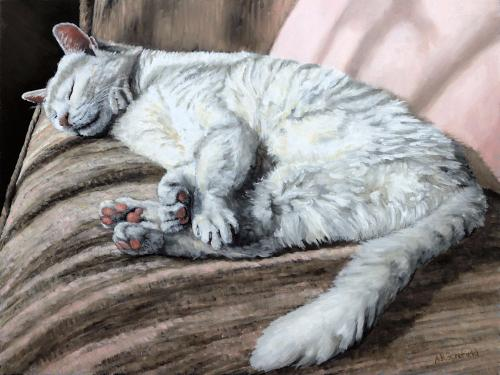 Artwork Chutney  What do cats like to do most?