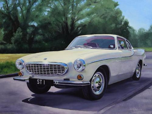 Artwork Volvo P1800