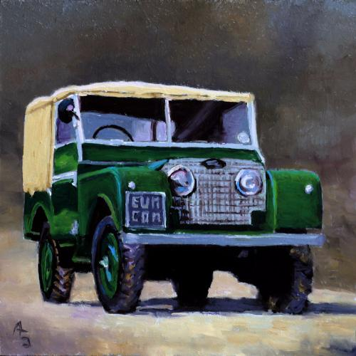 Artwork Landrover series 1
