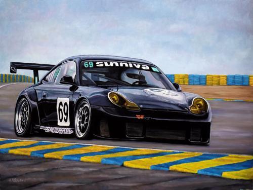 Artwork Porsche 996