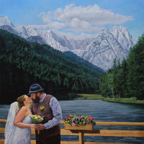 Artwork Alps Wedding