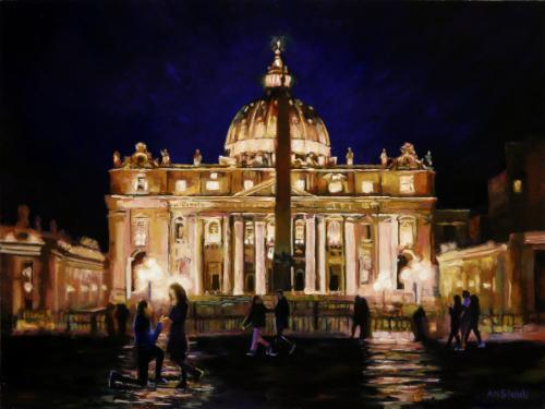 Artwork Proposal in Rome