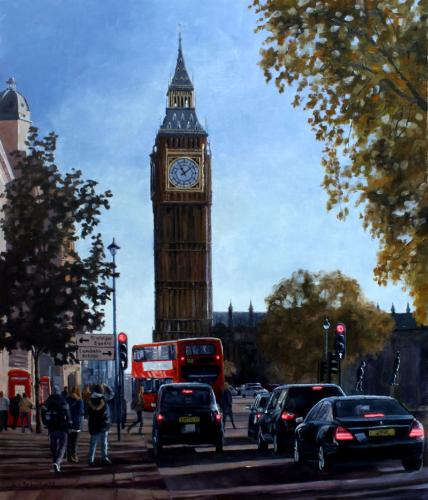 Big Ben, No.88 by Andrew - Use the 'Create Similar' button to commission an artist to create your own artwork.