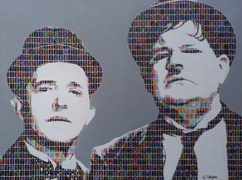 Artwork Stan and Ollie