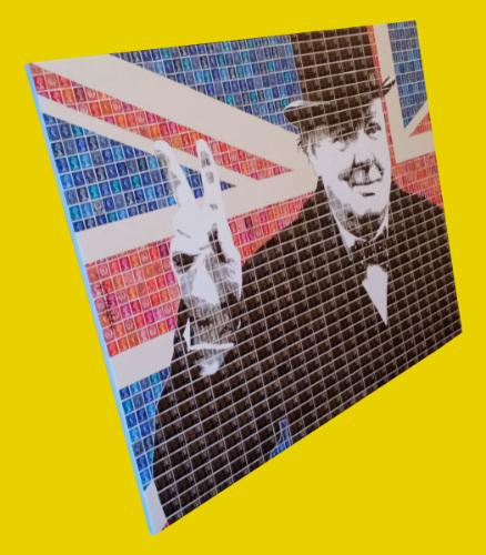 Churchill - Victory by 318iscurry - Use the 'Create Similar' button to commission an artist to create your own artwork.