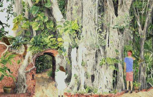 Artwork Banyans and vines