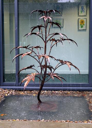 Large Acer Tree Fountain by Humphrey - Use the 'Create Similar' button to commission an artist to create your own artwork.