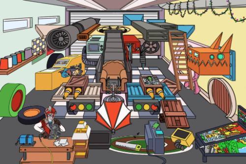 Artwork Space Garage