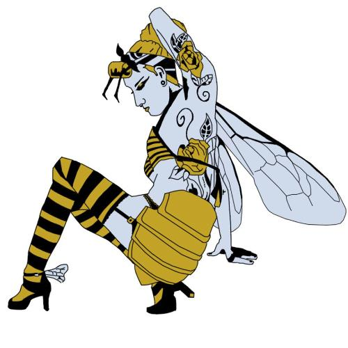 Manchester Worker Bee by Seanzero - Use the 'Create Similar' button to commission an artist to create your own artwork.