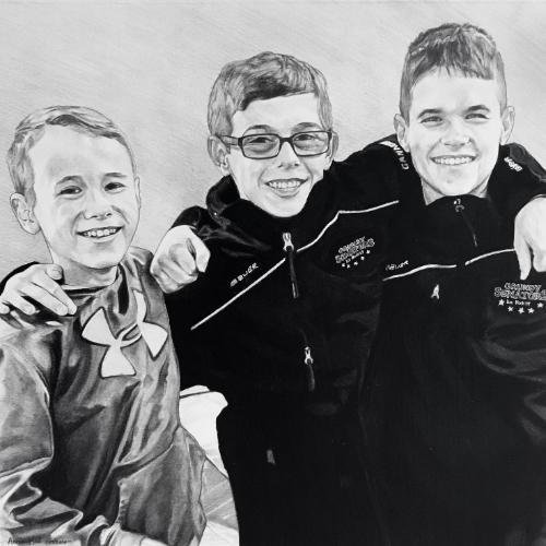 Artwork Three buddies