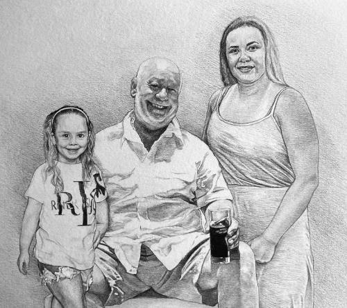 Artwork Family trio