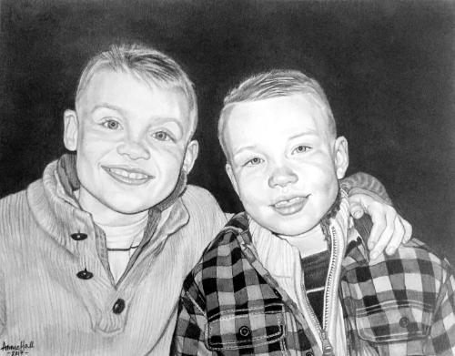 Artwork Brothers portrait