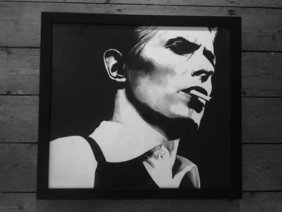 Bowie by AnnieH - Use the 'Create Similar' button to commission an artist to create your own artwork.